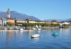 Ascona Schweiz Arkivfoton