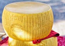 Typical italian cheese head on counter of Ascona Royalty Free Stock Photos