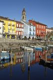 Ascona (Switzerland) - Bay of Ascona Stock Photography