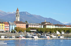 Ascona, Switzerland. Famous Swiss resort Ascona, Switzerland royalty free stock images
