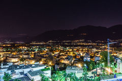 Asconaantenne, Zwitserland Stock Fotografie