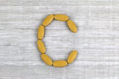 Ascorbic Acid, Vitamin C Royalty Free Stock Image