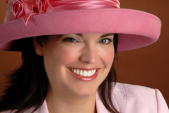 Ascot Hat Royalty Free Stock Images