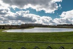 Ascot-Pferderennstrecke lizenzfreie stockbilder
