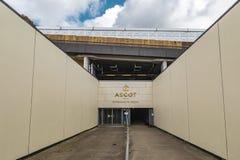 Ascot-Pferderennstrecke Heath Entrance lizenzfreies stockbild