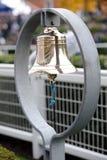Ascot racecourse bell. The Ascot racecourse parade ring bell royalty free stock photos