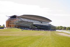 Ascot racecourse. Royal ascot racecourse, great for event publications stock images