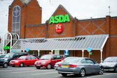 Asda商店在曼彻斯特,英国 图库摄影
