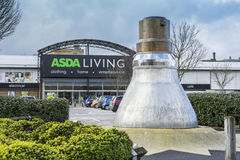 Asda生存超级市场 免版税库存照片