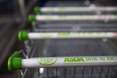 Asda超级市场 免版税图库摄影