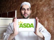 Asda immagazzina il logo Fotografia Stock Libera da Diritti