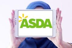 Asda prowiantowy logo obraz stock