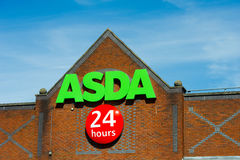 Asda-Speicher in Manchester, England Stockfotos