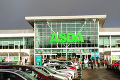 Asda supermarket Royaltyfria Bilder