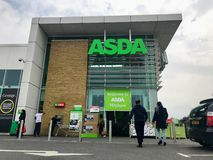 ASDA supermarket royalty free stock photo