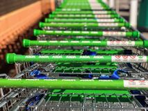 Asda supermarket zdjęcia royalty free
