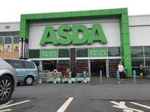 Asda supermarket obrazy royalty free