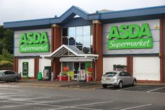 ASDA Supermarket Stock Photos