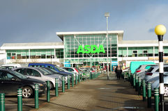 Asda-Supermarkt Lizenzfreies Stockfoto