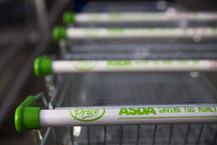 Asda-Supermarkt Lizenzfreie Stockfotografie