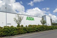 Asda-Superstore Lizenzfreies Stockfoto