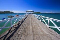 Asdang pier Royalty Free Stock Image