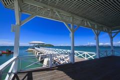 Asdang pier Stock Photo