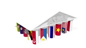 ASEAN Association Royalty Free Stock Photography