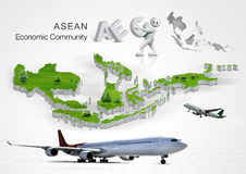 ASEAN Economic Community, AEC Stock Photography