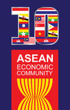 ASEAN Royalty Free Stock Photography