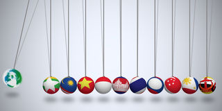 Asean Economic Community Stock Photography