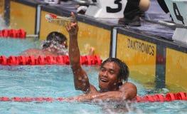 ASEAN paragames: εκτός λειτουργίας κολύμβηση Στοκ Φωτογραφία