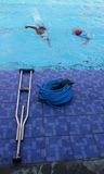 ASEAN paragames: εκτός λειτουργίας κολύμβηση Στοκ εικόνες με δικαίωμα ελεύθερης χρήσης