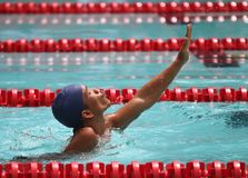 Asean paragames: disabled swimming Royalty Free Stock Image