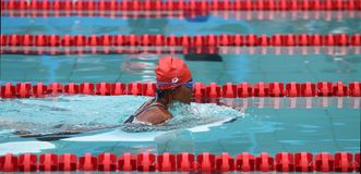 Asean paragames: swimming Stock Photography