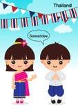 Asean Tailândia ilustração stock