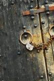 Asegure el candado #0 Fotos de archivo libres de regalías