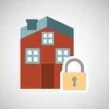 asegure el riesgo del seguro de la protección imagenes de archivo