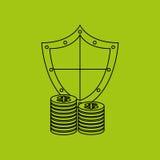asegure el riesgo del seguro de la protección fotos de archivo libres de regalías