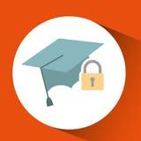 asegure el riesgo del seguro de la protección foto de archivo