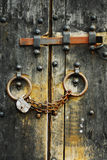 Asegure las puertas de madera #3 Imagenes de archivo