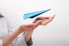 Asekuracyjni loty (pojęcie) Zdjęcia Royalty Free