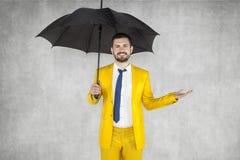Asekuracyjny agent radzić klienta Obraz Stock