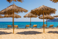 Aselinos beach, Skiathos, Greece Stock Image