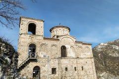 Asen的堡垒在阿塞诺夫格勒,保加利亚 免版税库存图片