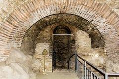 Asen的堡垒在阿塞诺夫格勒,保加利亚 免版税库存照片