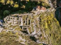 Asen的堡垒的地区veiw 免版税库存图片