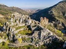 Asen的堡垒的地区veiw 免版税库存照片