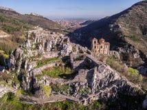 Asen的堡垒的地区veiw 库存图片