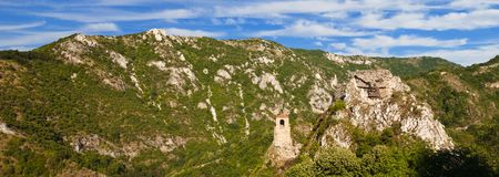 Asen Fortress Panorama Stock Photos